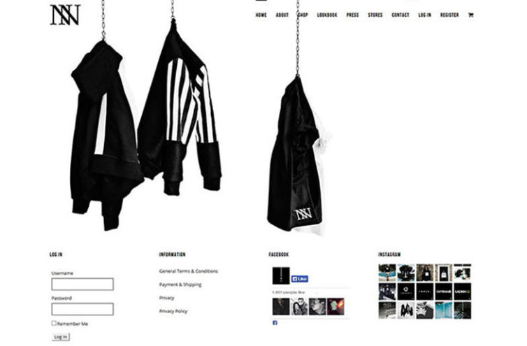 Webseite von INAN13.com