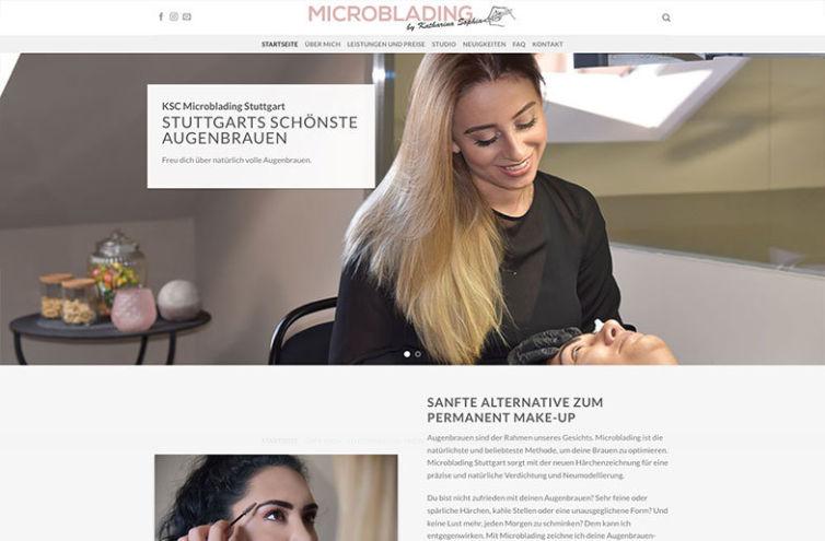 Webseite von Microblading-KSC.de